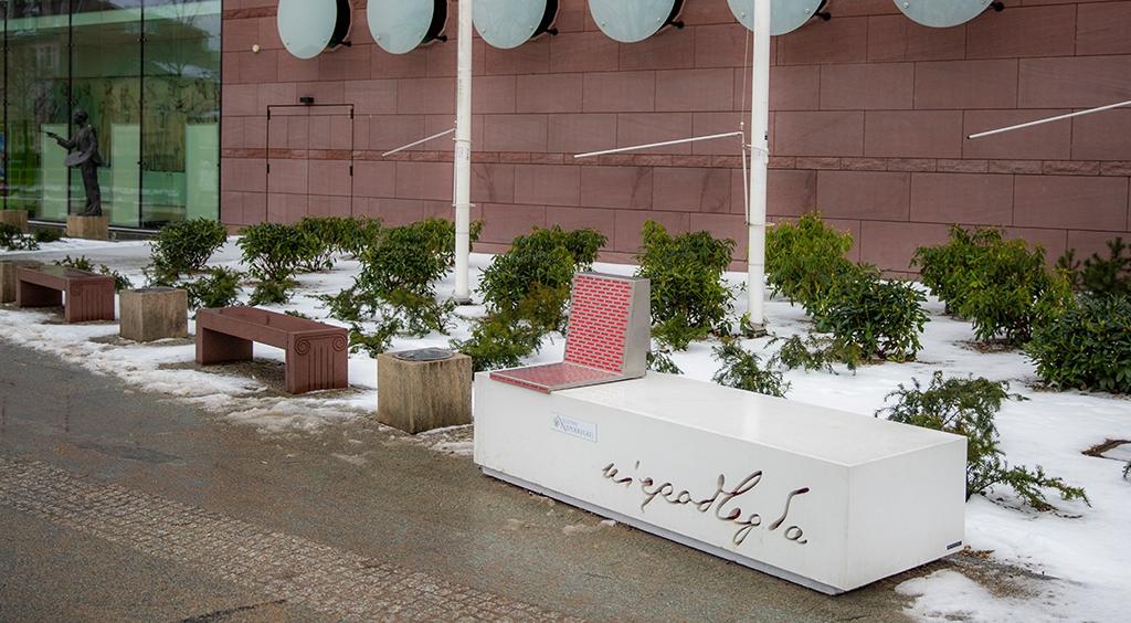 Ławka Niepodległości w Wejherowie