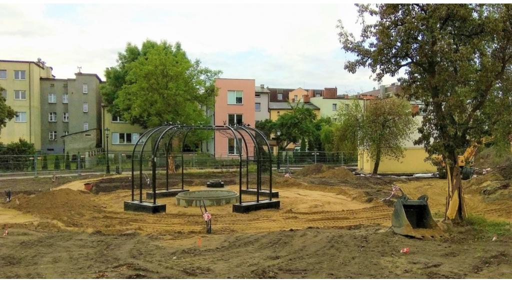 Trwa budowa Parku Cedron
