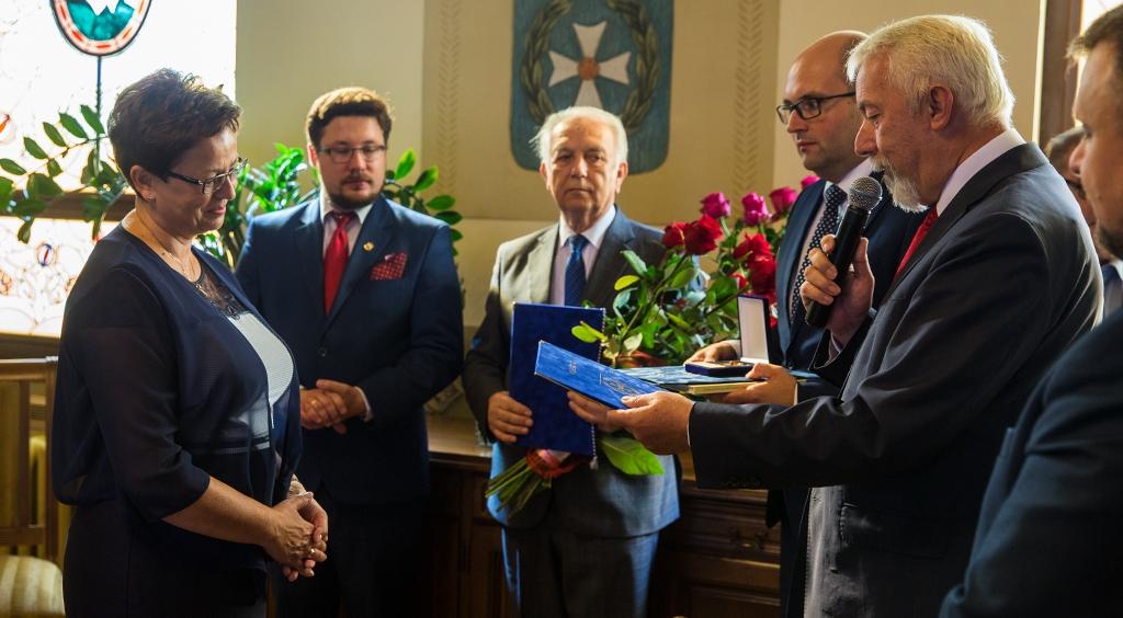 Pożegnanie i podziękowania dla dyrektor Małgorzaty Zaleskiej