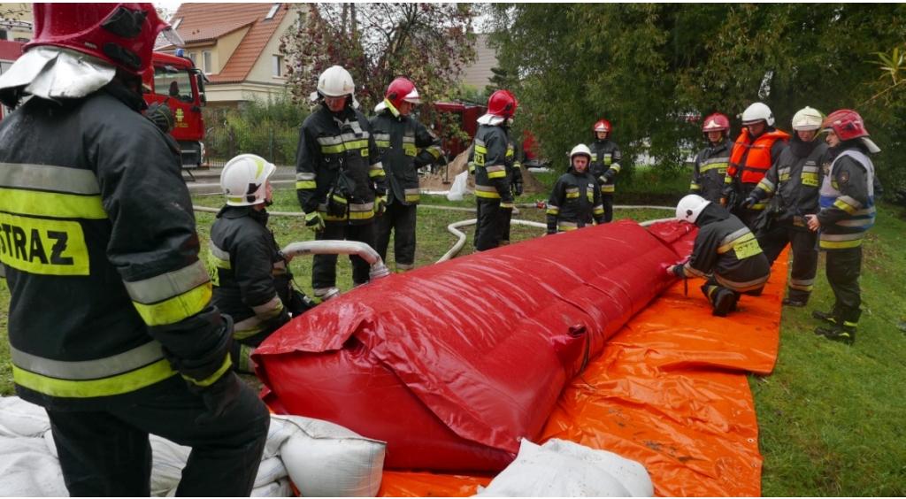 Ćwiczenia Przeciwpowodziowe - Powódź Wejherowo 2019