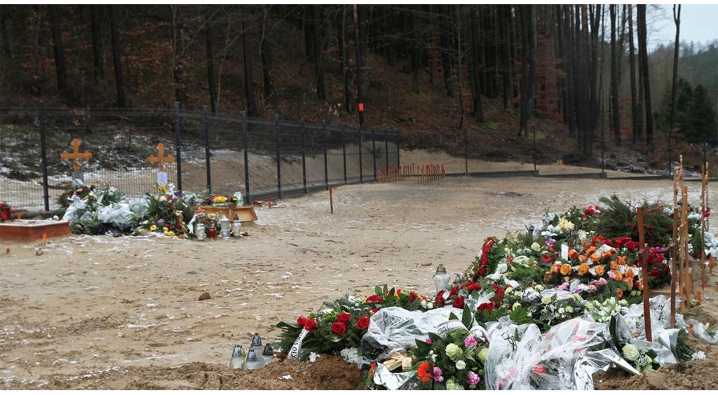 Pierwsze pochówki na cmentarzu komunalnym w Wejherowie