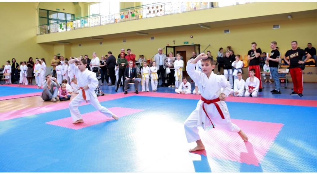 Dzieci rywalizowały w turnieju karate