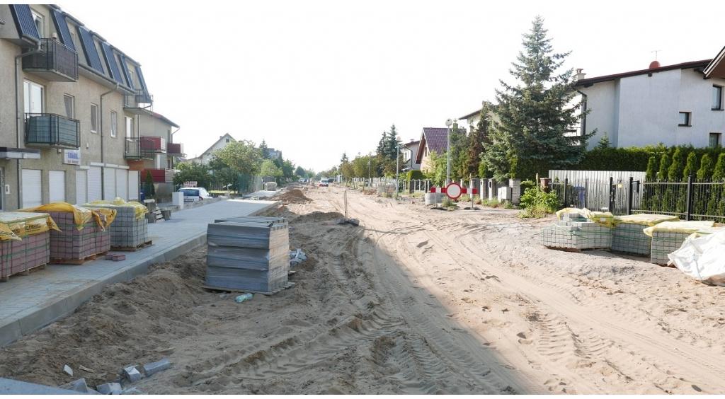 Budowa ul. Krofeya