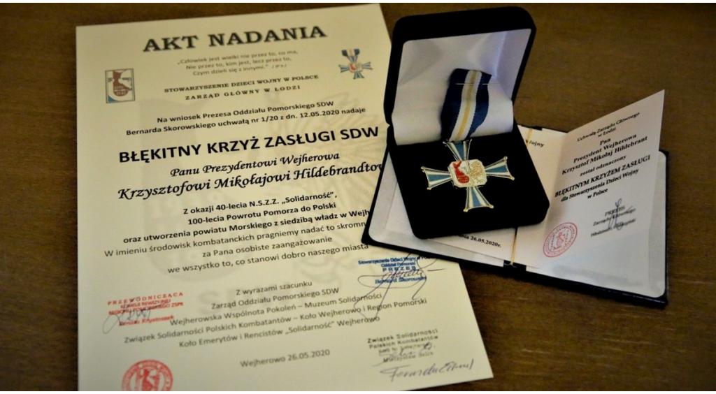 Wyróżnienie Prezydenta Krzysztofa Hildebrandta