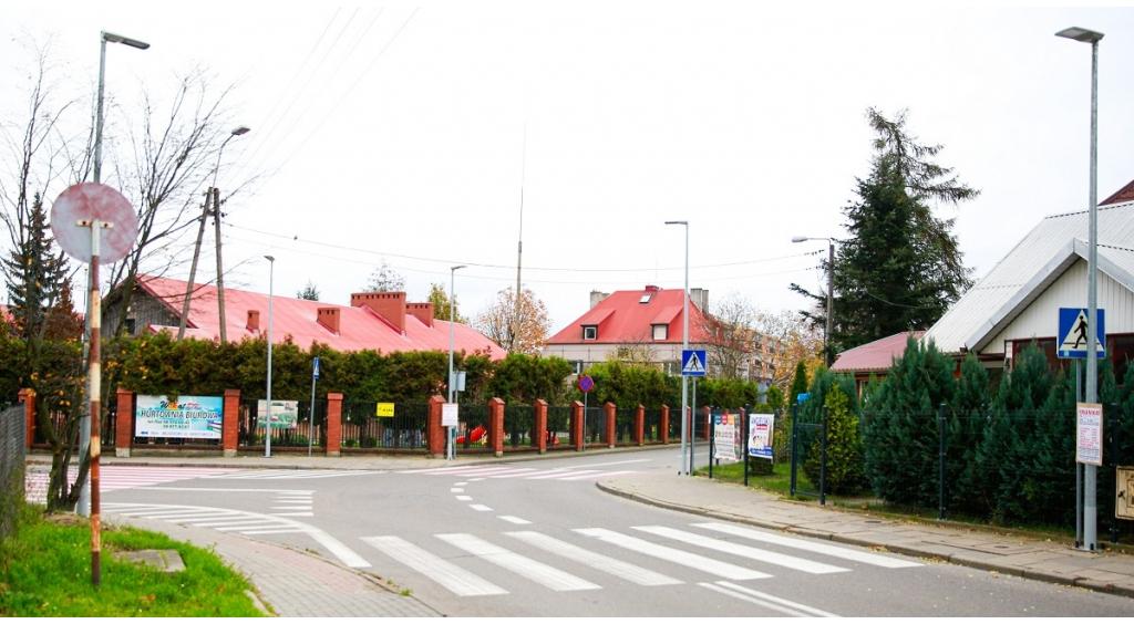Doświetlono trzy kolejne przejścia dla pieszych w Wejherowie