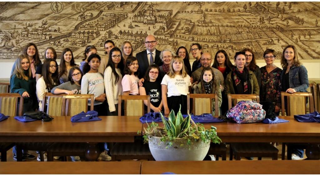 Francuski chór dziecięcy gościł w ratuszu