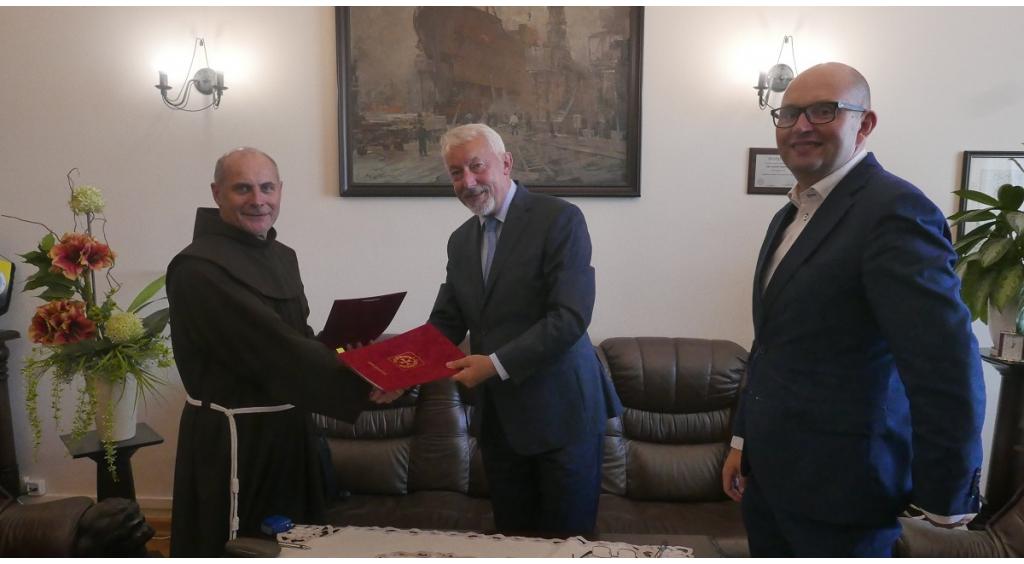 Wejherowo dofinansowało prace przy  Klasztorze Ojców Franciszkanów