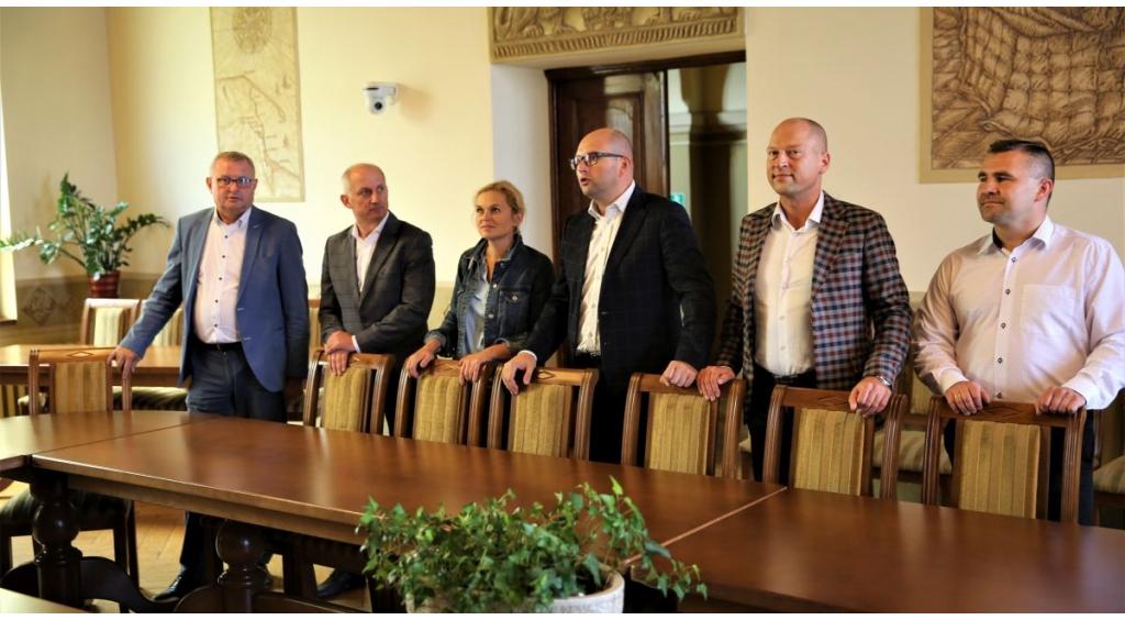 Barbara Nowacka i Sławomir Neumann z wizytą w Wejherowie