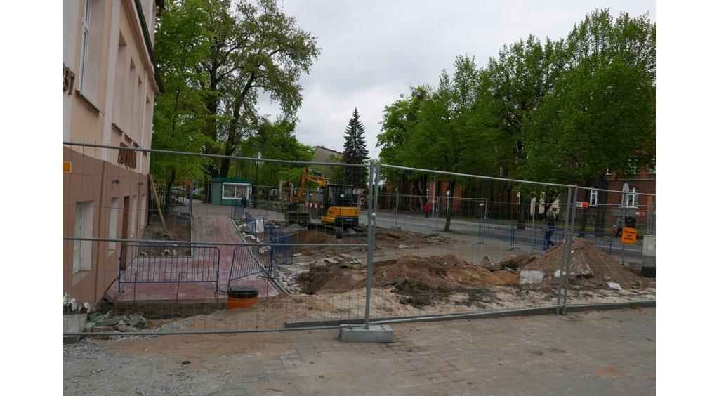 Ostatni etap budowy ciągu spacerowego przy ul. Sobieskiego