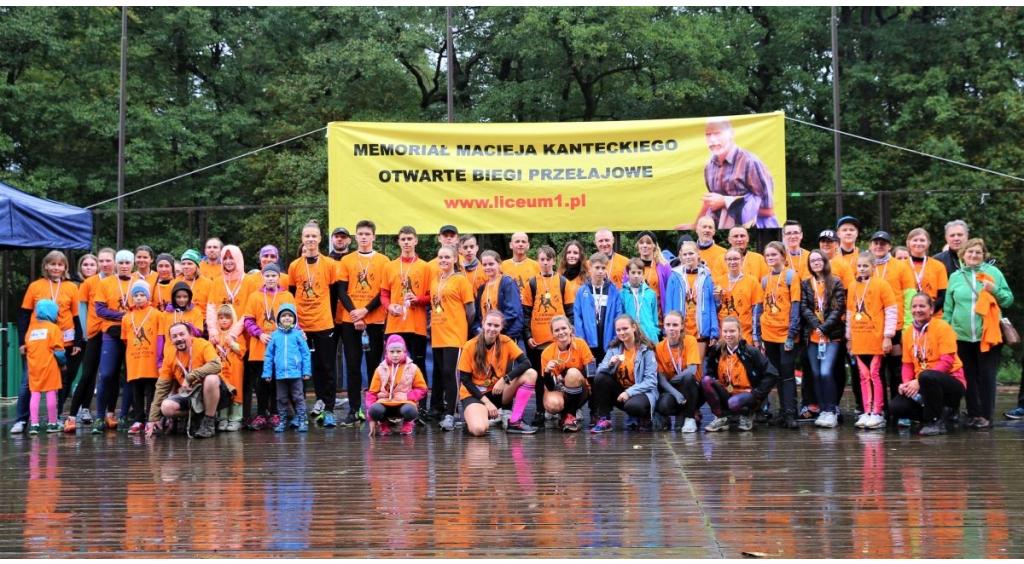 Pogoda nie przeszkodziła biegaczom