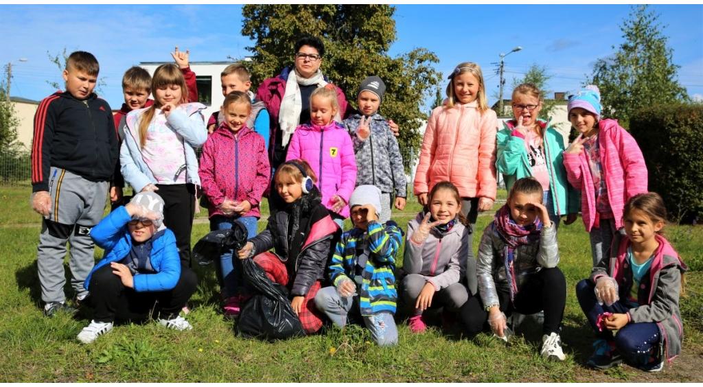 Uczniowie i mieszkańcy sprzątają Wejherowo