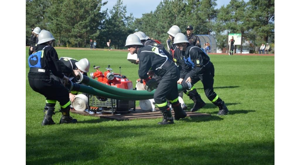 Strażacy OSP przetestowali swoje umiejętności