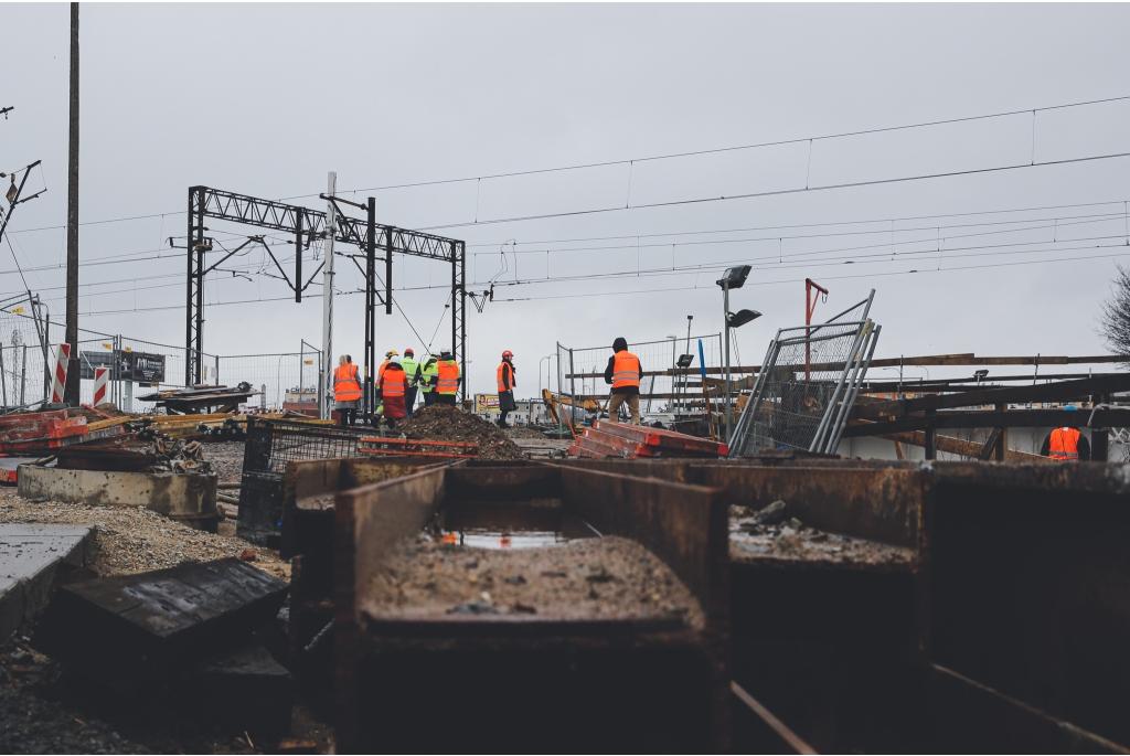 Węzeł Wejherowo (Kwiatowa) - budowa postępuje