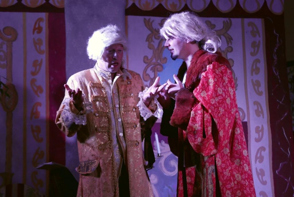 Spektakl charytatywny Mieszczanin szlachcicem