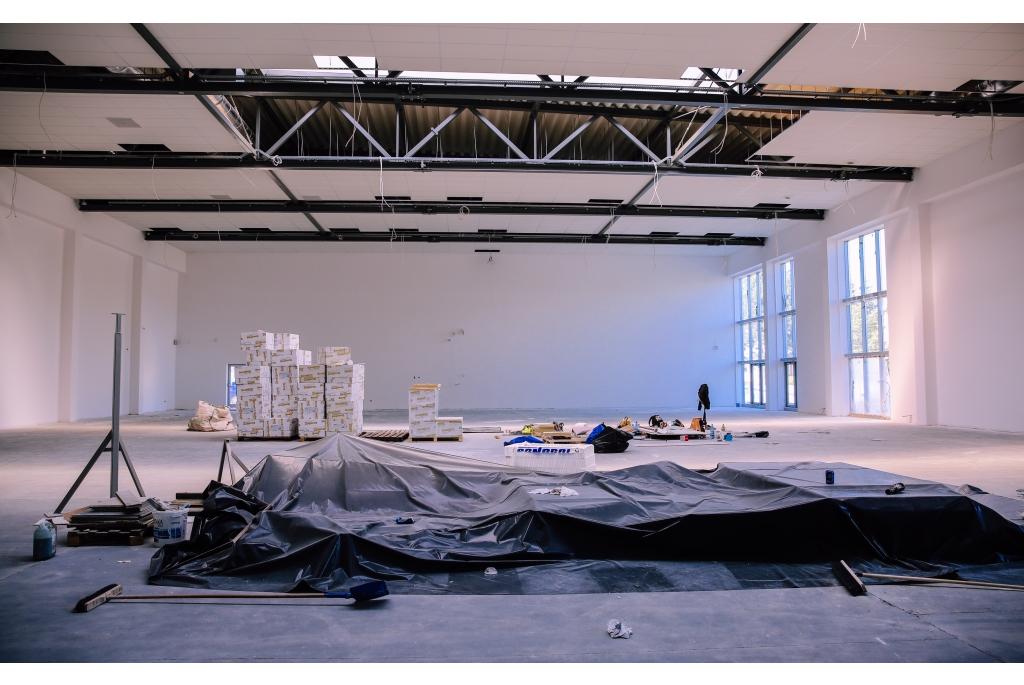 Budowa hali sportowej przy SP5 w Wejherowie