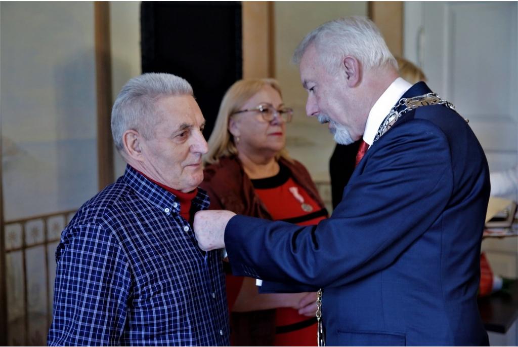Uroczystość wręczenia Medali za długoletnie pożycie małżeńskie 13.02.2020 r.