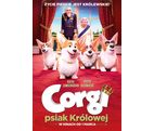 Corgi, psiak Królowej 2D dubbing