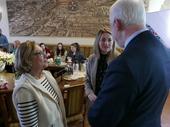Wizyta studentów amerykańskich w ratuszu