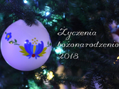 Życzenia bożonarodzeniowe 2018