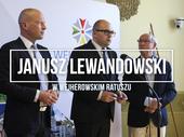 Wizyta posła Janusza Lewandowskiego w Wejherowie
