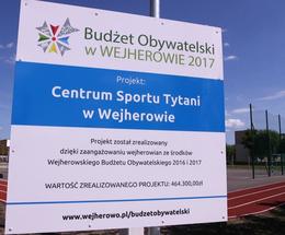 Centrum Sportu TYTANI w Wejherowie już otwarte!