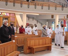 Msza odpustowa w kościele NMP Królowej Polski