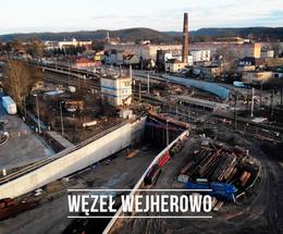 Budowa węzła WEJHEROWO (Kwiatowa) - Luty 2020