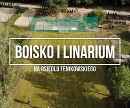 Boisko i linarium na osiedlu Fenikowskiego