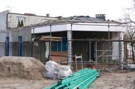 Trwa budowa świetlicy na osiedlu Sucharskiego
