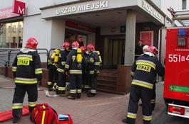 Sprawna ewakuacja budynku Urzędu Miejskiego