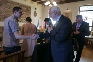 Wylicytował spotkanie z prezydentem