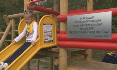 Nowy plac zabaw Ogródków działkowych im. Floriana Ceynowy w Wejherowie