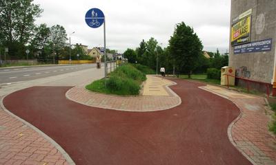 Ścieżka rowerowa wzdluż Cedronu w Wejherowie - 04.06.2013
