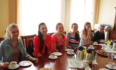 Wizyta delegacji z Uniwersytetu Przykarpackiego w Iwano-Frankowsku - 29.07.2013