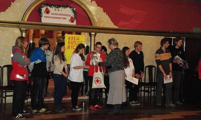 Spotkanie z Honorowymi Dawcami Krwi PCK - 27.11.2012