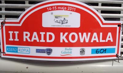II Raid Kowala - Wejherowo - 14.05.2011