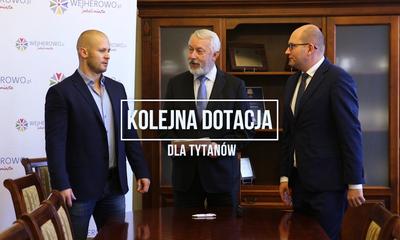 Kolejna dotacja dla klubu sportowego Tytani Wejherowo