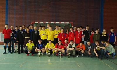 Turniej Halowej Piłki Nożnej Gimnazjów o Puchar Prezydenta Wejherowa - 31.03.2010