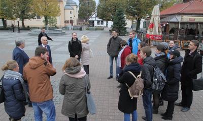 Wizyta młodzieży z Ukrainy, Białorusi i Mołdawii