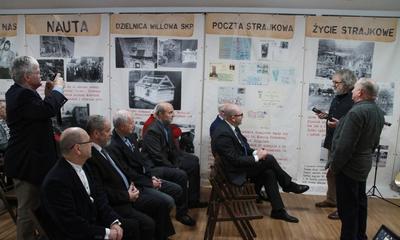 Spotkanie seniorów Solidarności z okazji 100. lecia niepodległości