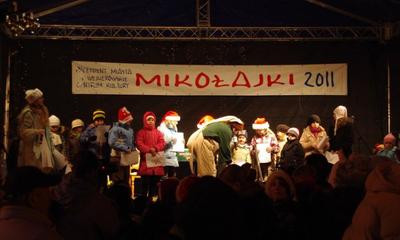 Mikołajki na rynku - 06-12-2011