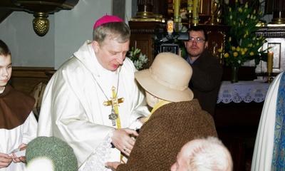 Światowy Dzień Chorych - Msza św. w wejherowskim Sanktuarium 11.02.2010