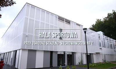 Hala sportowa przy OSW nr 2 w Wejherowie