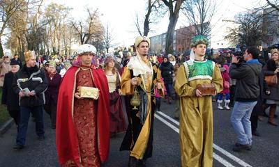Orszak Trzech Króli w Wejherowie - 06.01.2014