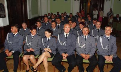 Wyróżnienia z okazji Święta Policji - 24.07.2014