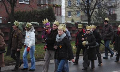 Orszak Królewski - Święto Trzech Króli w Wejherowie - 06.01.2013