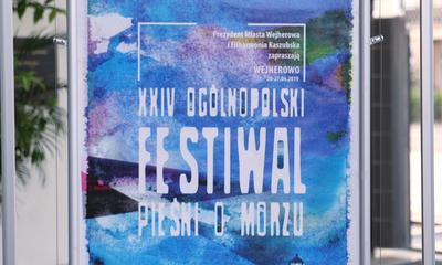 Inauguracja 24. Ogólnopolskiego Festiwalu Pieśni o Morzu w Wejherowie
