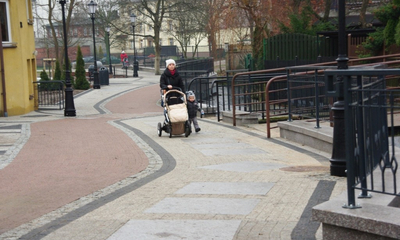 Trakt pieszo-rowerowy wzdłuż Cedronu - etap III - 13.12.2013