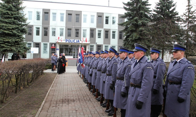 Otwarcie rozbudowanej i zmodernizowanej siedzib KP Policji w Wejherowie - 23.03.2016