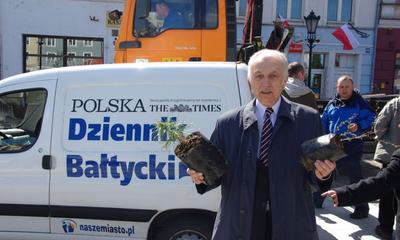 Akcja Dziennika Bałtyckiego DRZEWKO ZA MAKULATURĘ - 24.04.2010